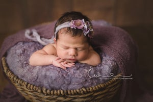 Image of Nest of Curls Blanket - LAVENDER FIELD