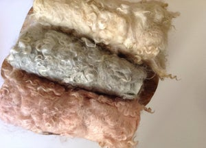Image of Nest of Curls Blanket - VINTAGE PINK