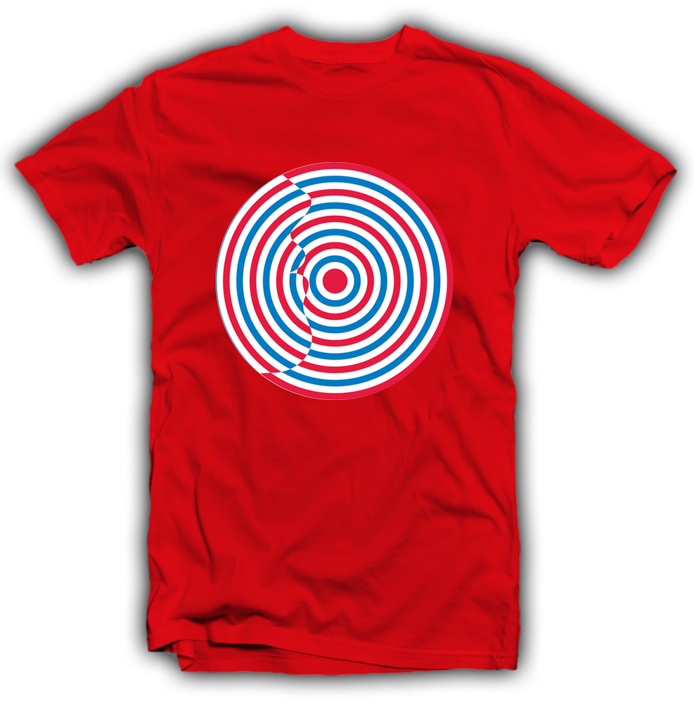 Image of T-shirt Target Rossa