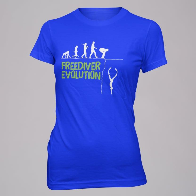 Image of Freediver Evolution Lady