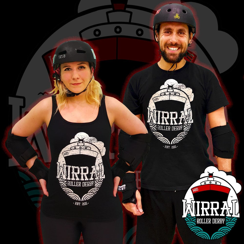 Image of Wirral Roller Derby (New logo)