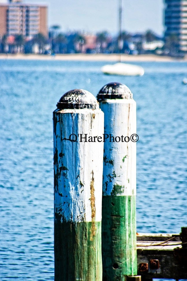 Image of ST. KILDA PONTOON • Custom Matted