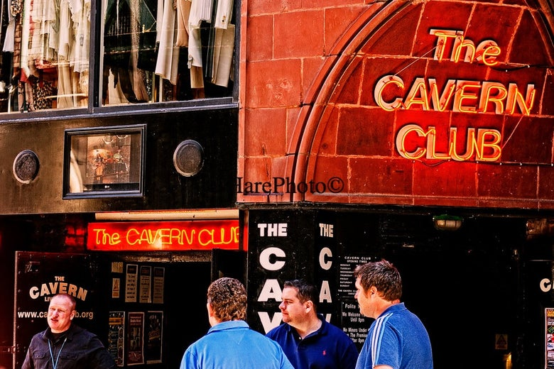 Image of THE CAVERN CLUB, LIVERPOOL • Custom Framed