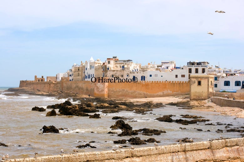 Image of ESSAOUIRA, MOROCCO • Custom Matted