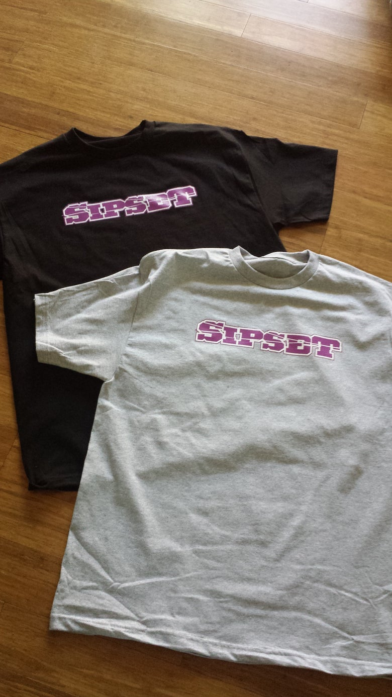 "Image of Siplean ""Sipset"" tee shirt"