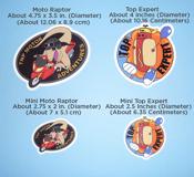 Image of Top Expert / Motor Adventure Stickers