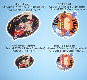 Image of Top Expert / Motor Adventure Stickers