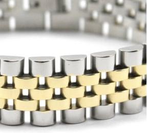 Image of Gold / Silver Rolli Bracelet