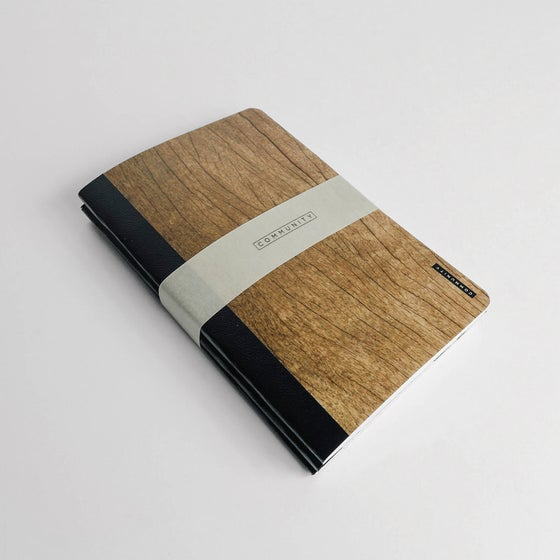 Image of Rock, Paper, Notebooks.