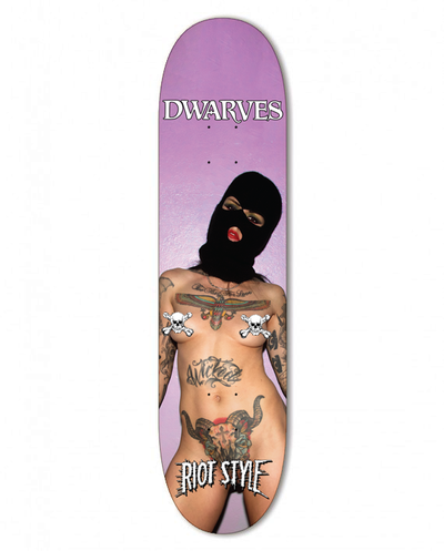 Image of The Dwarves / Malice McMunn - Radio Free Dwarves Skate Deck