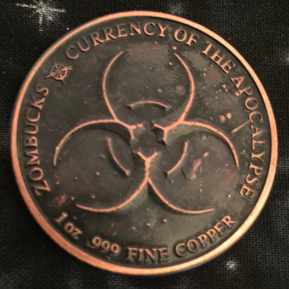 Image of Slayed Dollar 1oz Copper Challenge Coin