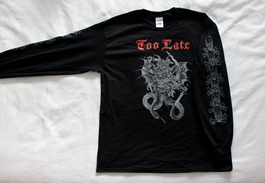 Image of Black Abraxas Long Sleeve