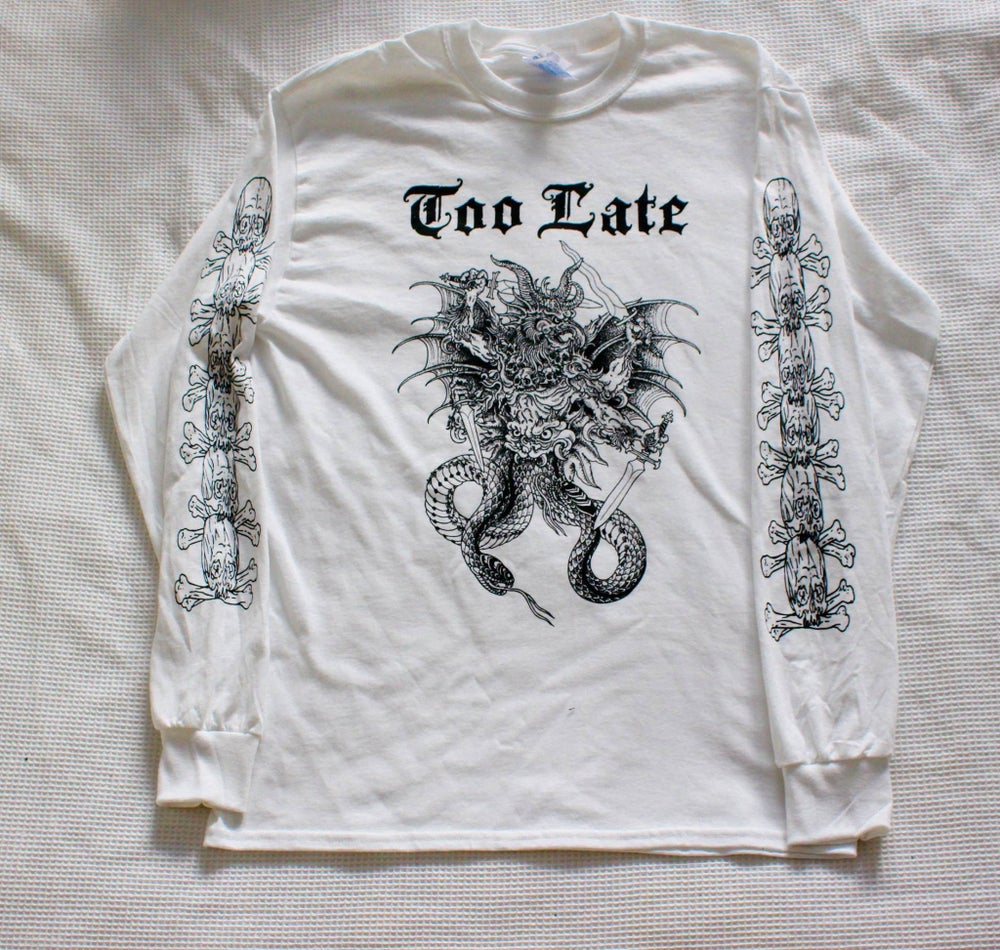 Image of White Abraxas Long Sleeve