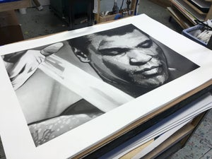 Image of Ali: Almost Showtime by Joe Iurato