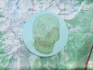 Image of The Worst Case 'Topo Skull' Sticker