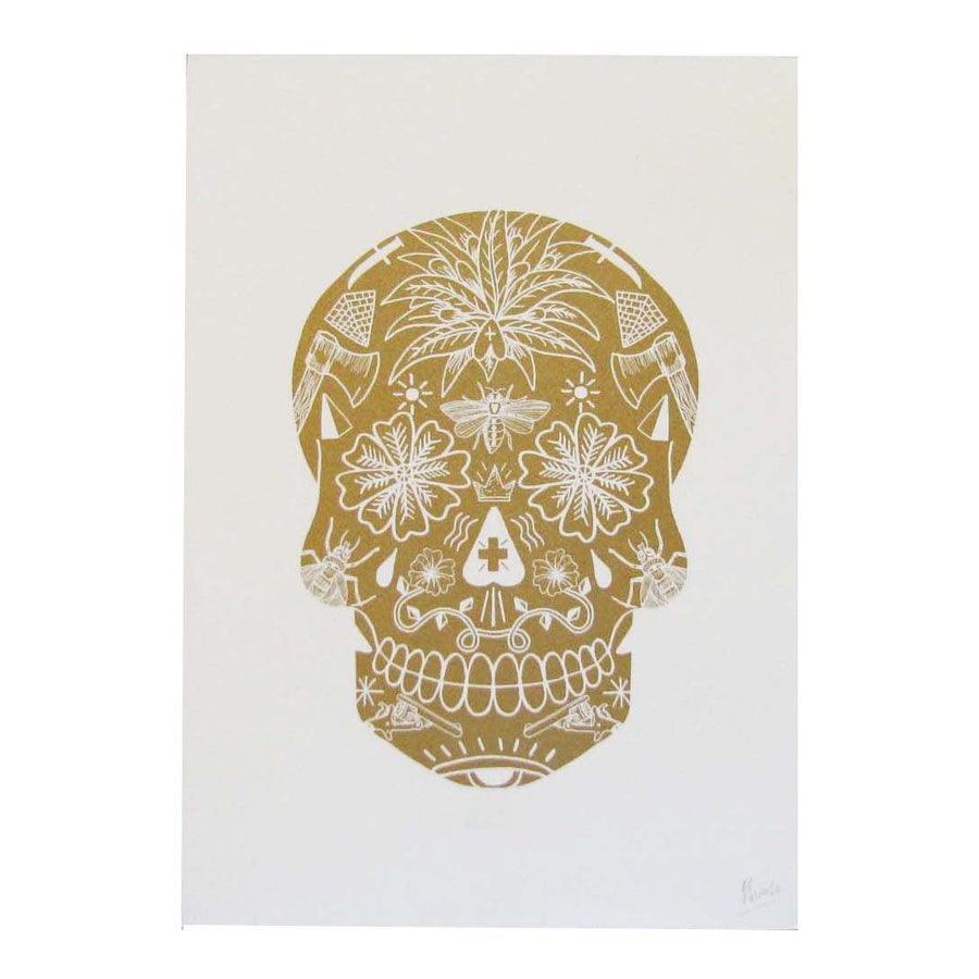 Image of <b>Gold Skull</b> <br> - <b>El Famoso</b>