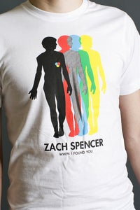 "Image of Zach Spencer ""When I Found You"" T-shirt"