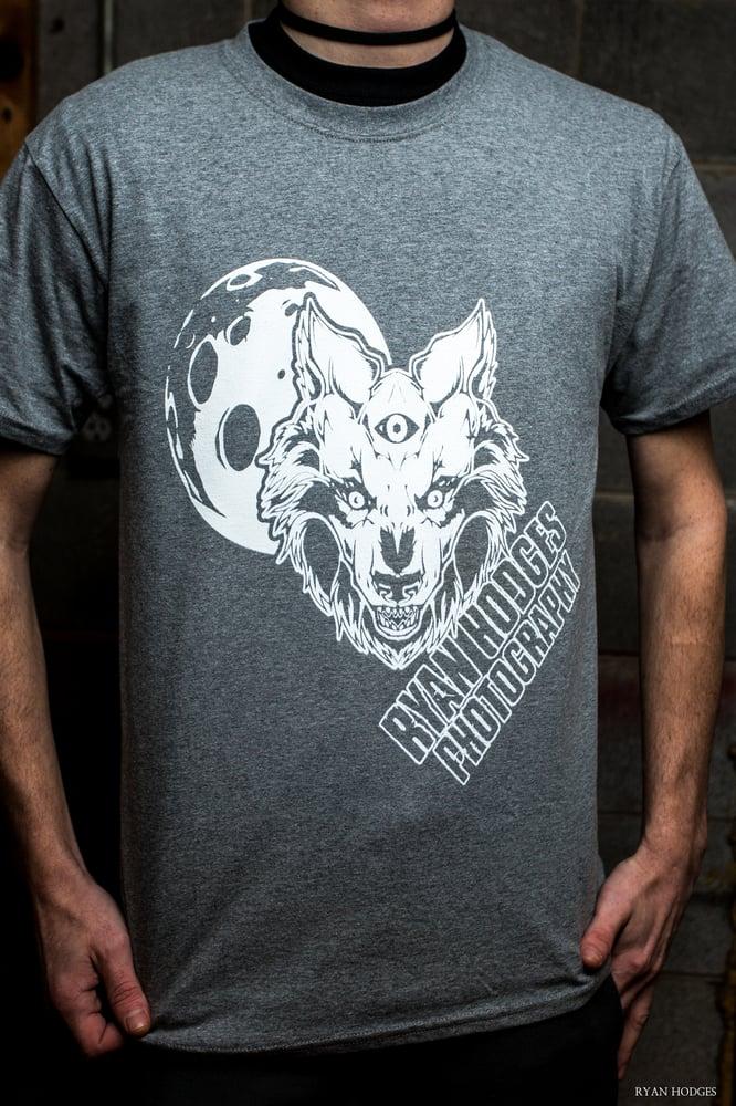 Image of Shutter Wolf T-Shirt Grey