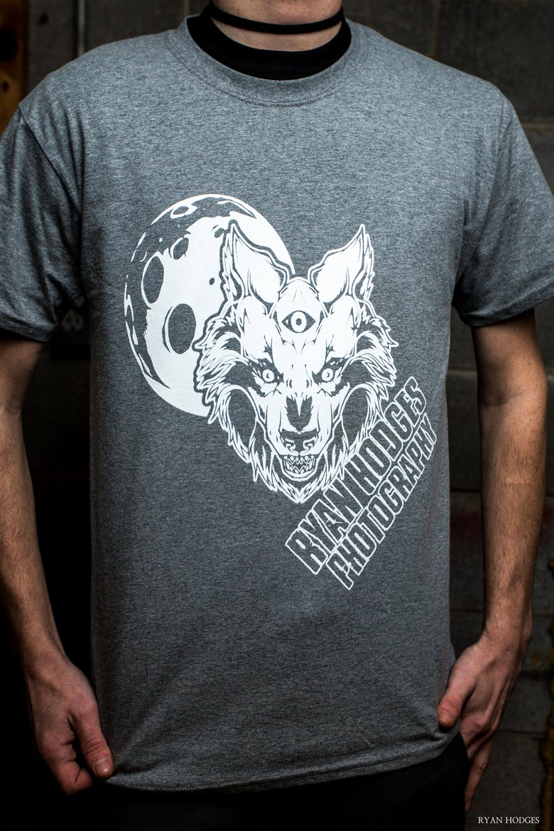Image of Shutter Wolf T-Shirt Grey