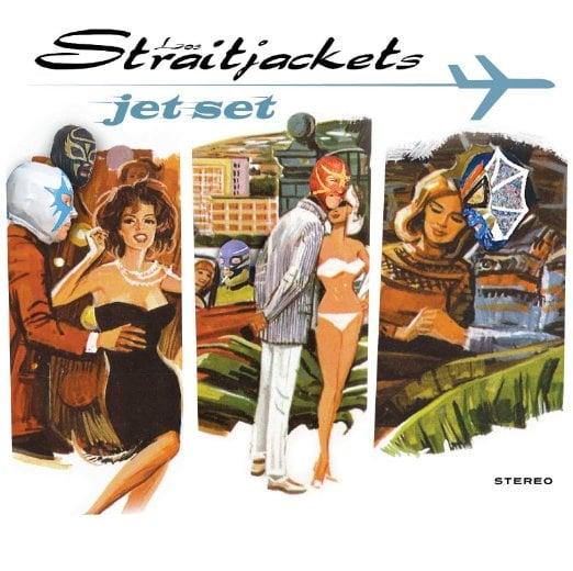 "Image of LOS STRAITJACKETS ""JET SET"" CD"