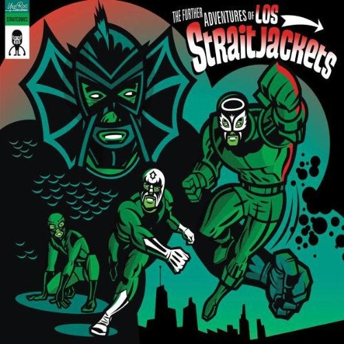 "Image of LOS STRAITJACKETS ""THE FURTHER ADVENTURES OF LOS STRAITJACKETS"" CD"