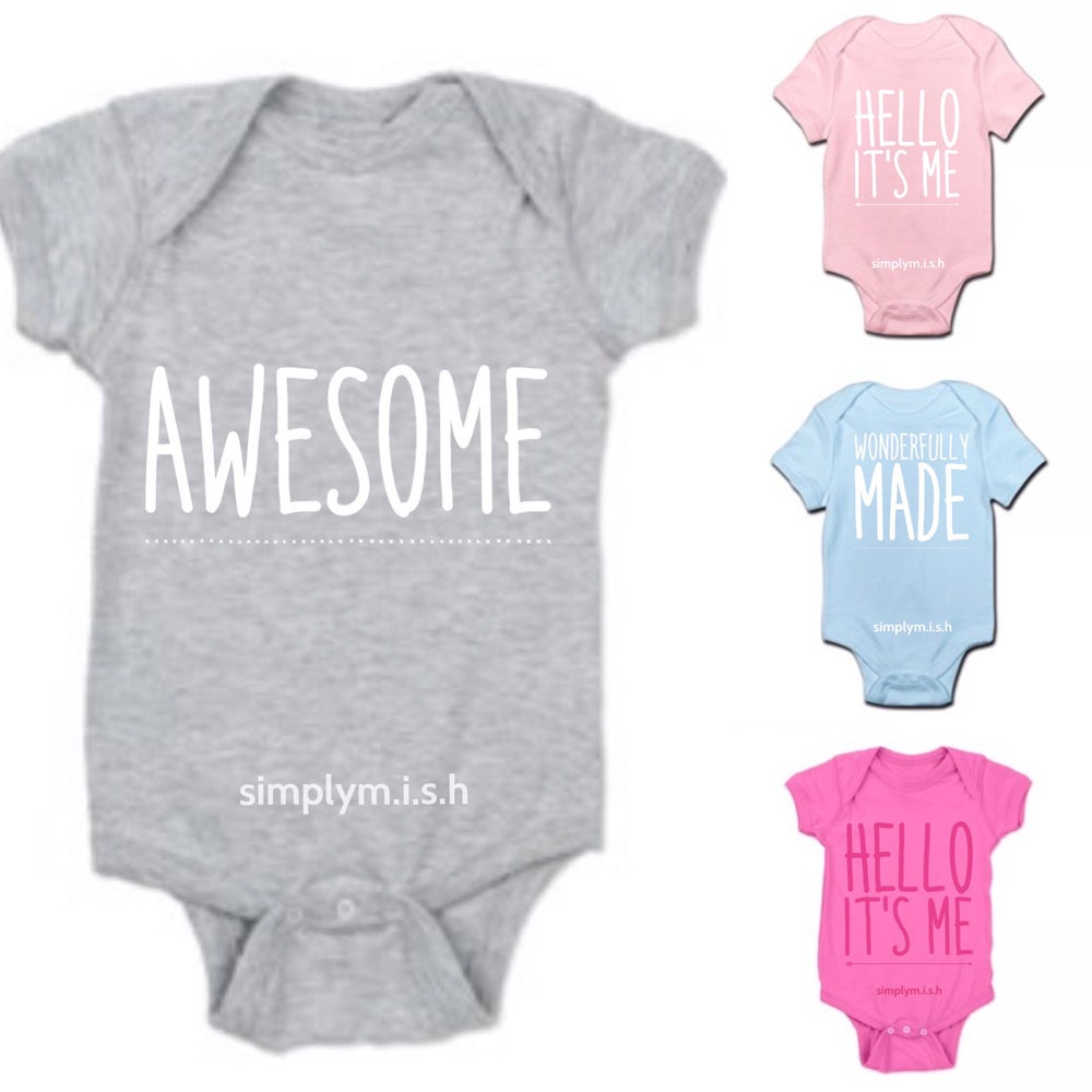 Image of Baby onesies