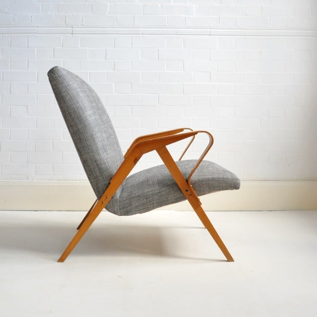 Image of Midcentury lounge chair by Tatra