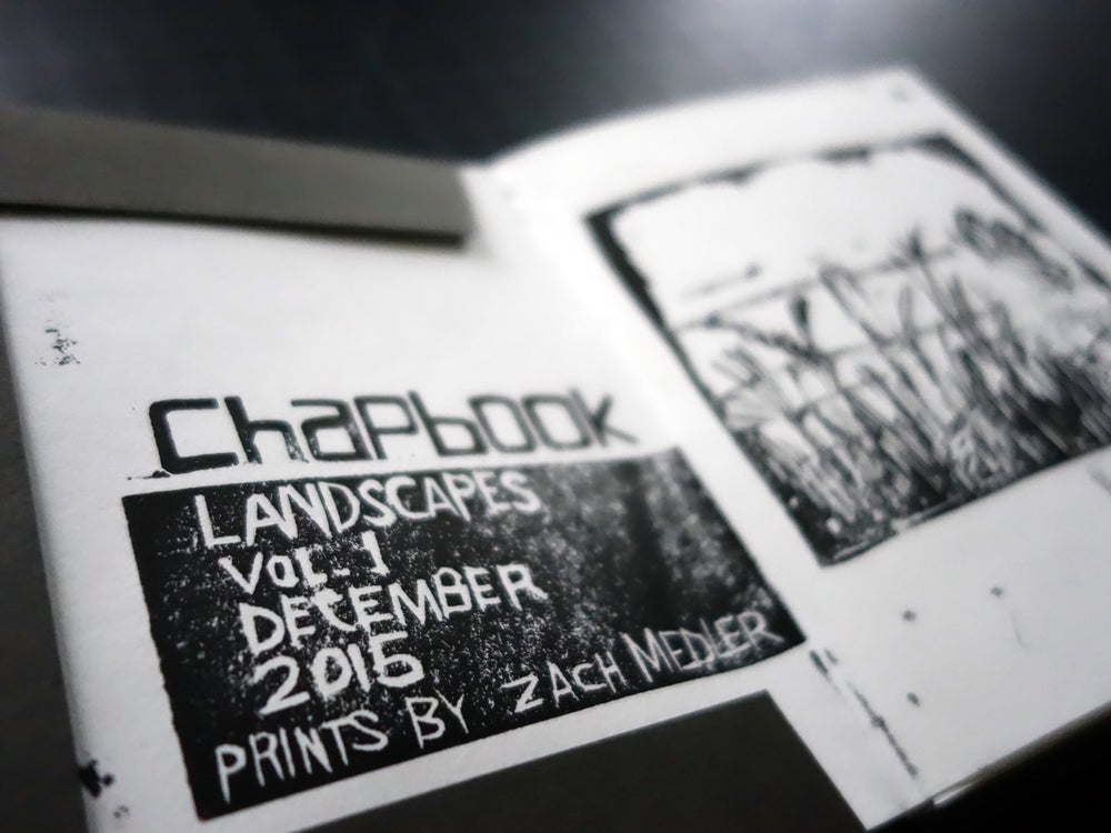 Image of chapbook: landscapes, volume 1