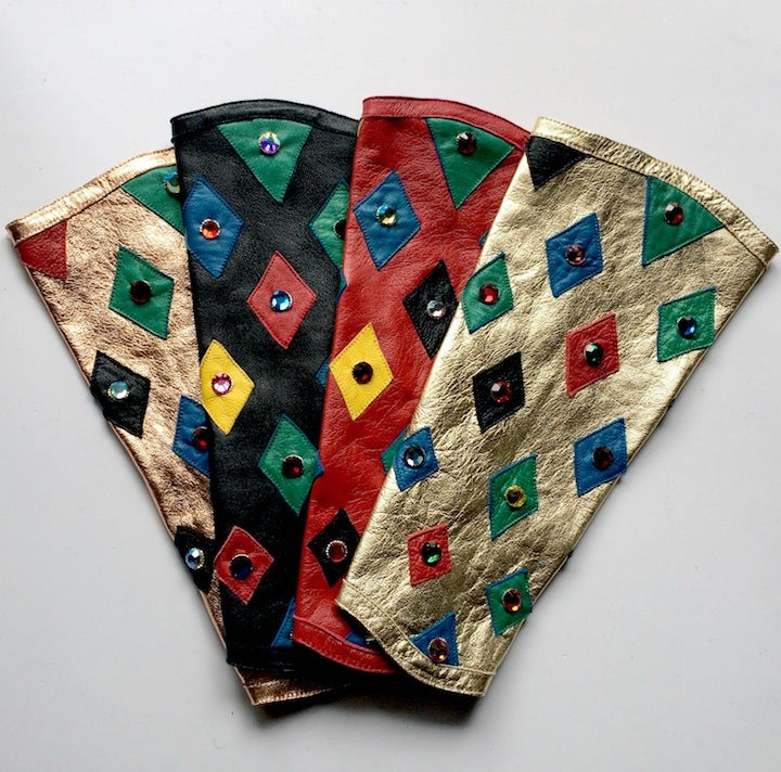 Image of Harlequin ARMPIECE, With Stones