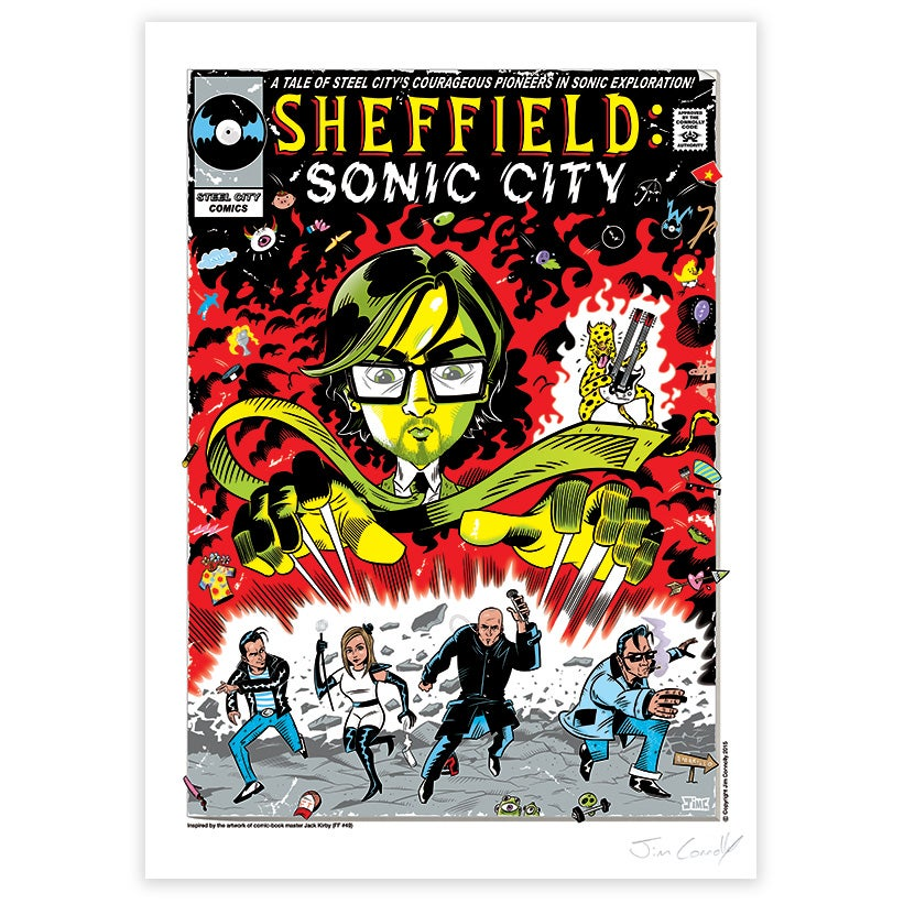 Image of Sheffield: Sonic City
