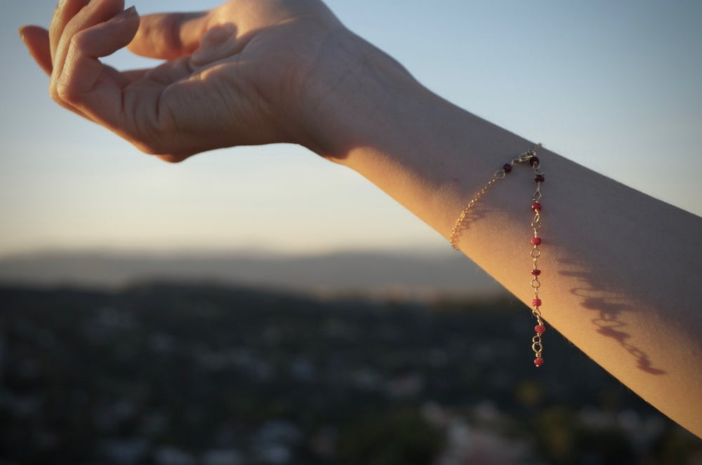 Image of DESIGN YOUR OWN! Beaded Bracelet/Anklet