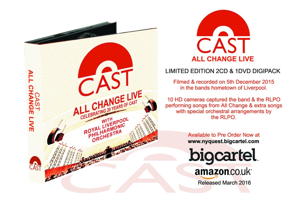 "Cast ""All Change"" Live at the Liverpool Philharmonic Hall"