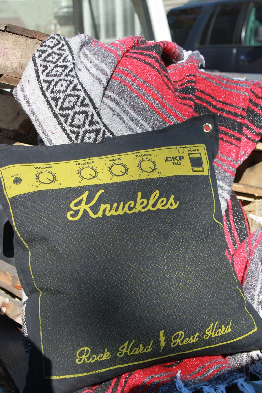 Image of CKP AMP'd Pillow Cover