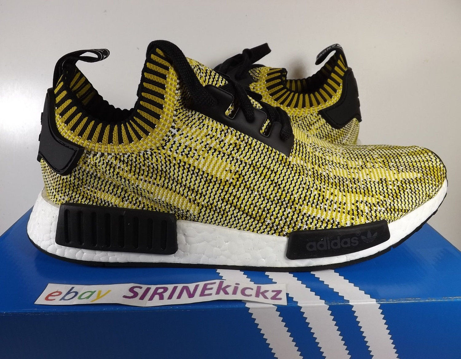 Image of Adidas NMD Runner PK - S42131 - Yellow Gold Black