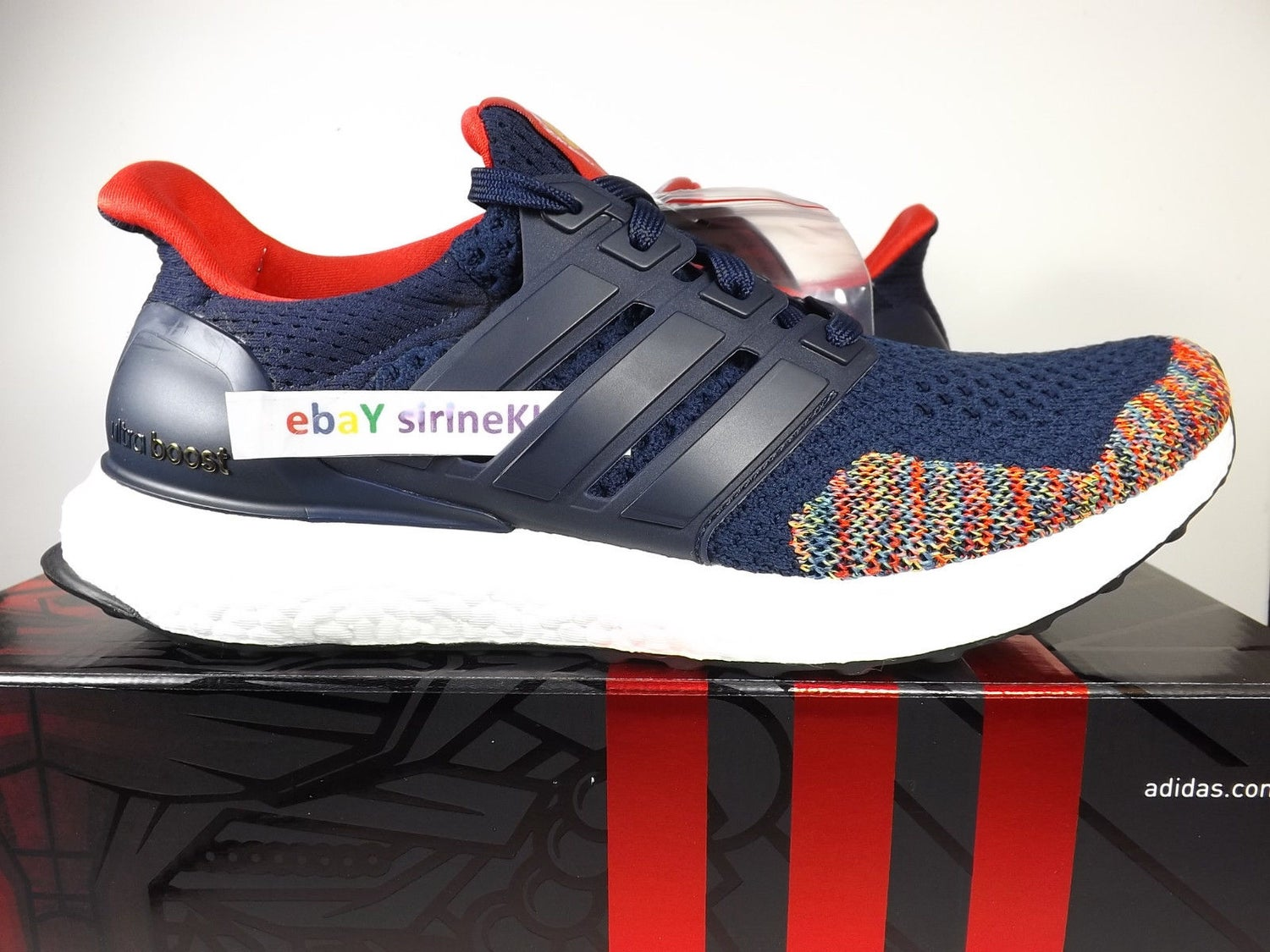 Image of Adidas Ultra Boost CNY CHINA - AQ3305 Chinese New Year Multicolor