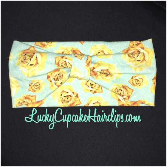 Image of Jeweled Golden Rose