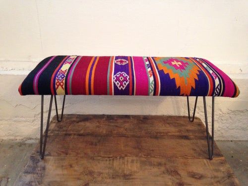 Image of Kilim Bench | Medium