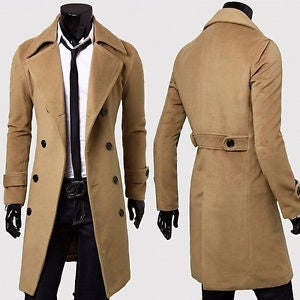 Image of CAMEL OVERCOAT