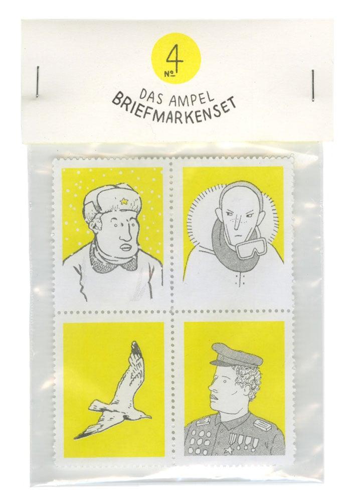 Image of Briefmarkenset 4