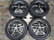 "Image of Genuine Porsche 911 996 Carrera 2 17"" 5x130 Alloy Wheels"
