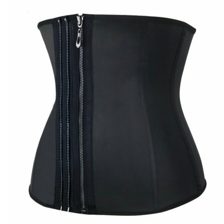 Image of CQ zipper corset 3 row