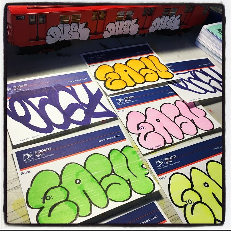 "Image of ""EASY"" STICKER PACKS"
