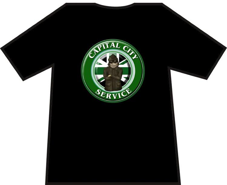 Hibs, Hibernian Capital City Service CCS Casuals t-shirts. Brand new.