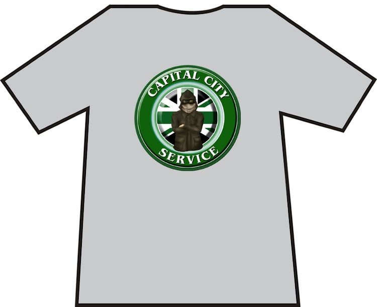 Hibs, Hibernian Capital City Service CCS Casuals t-shirts. Brand new.