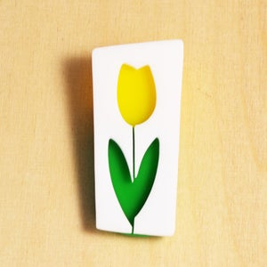 Image of Tulip brooch