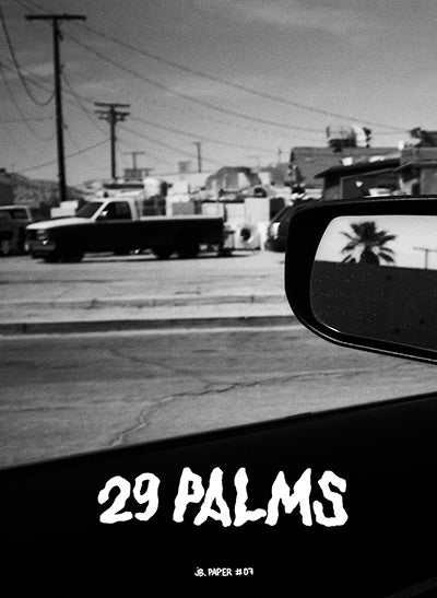 "Image of JB. Paper #07 — Jenne Grabowski ""29 PALMS (BY CAR)"""