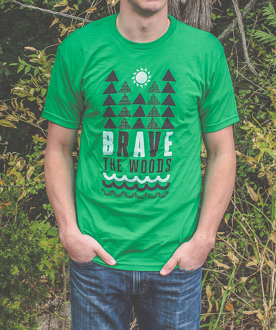 Image of Brave Forest Tee - Men's