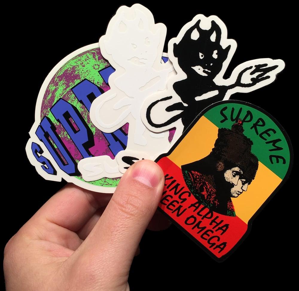 Image of 2015 FW Stickers (ET/Toshio/Splat)