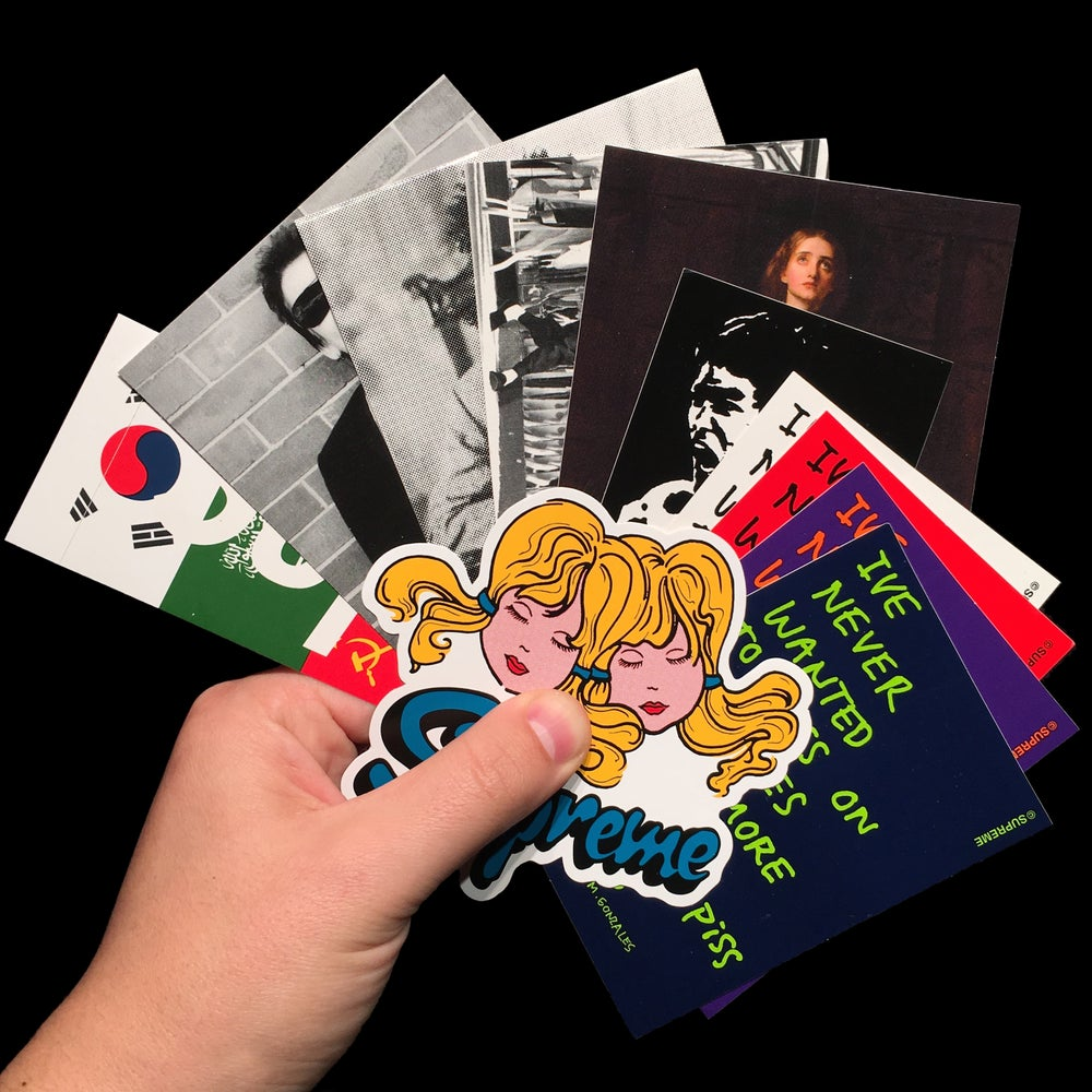 Image of 2013 FW Stickers (Flags/Shane/Joan)