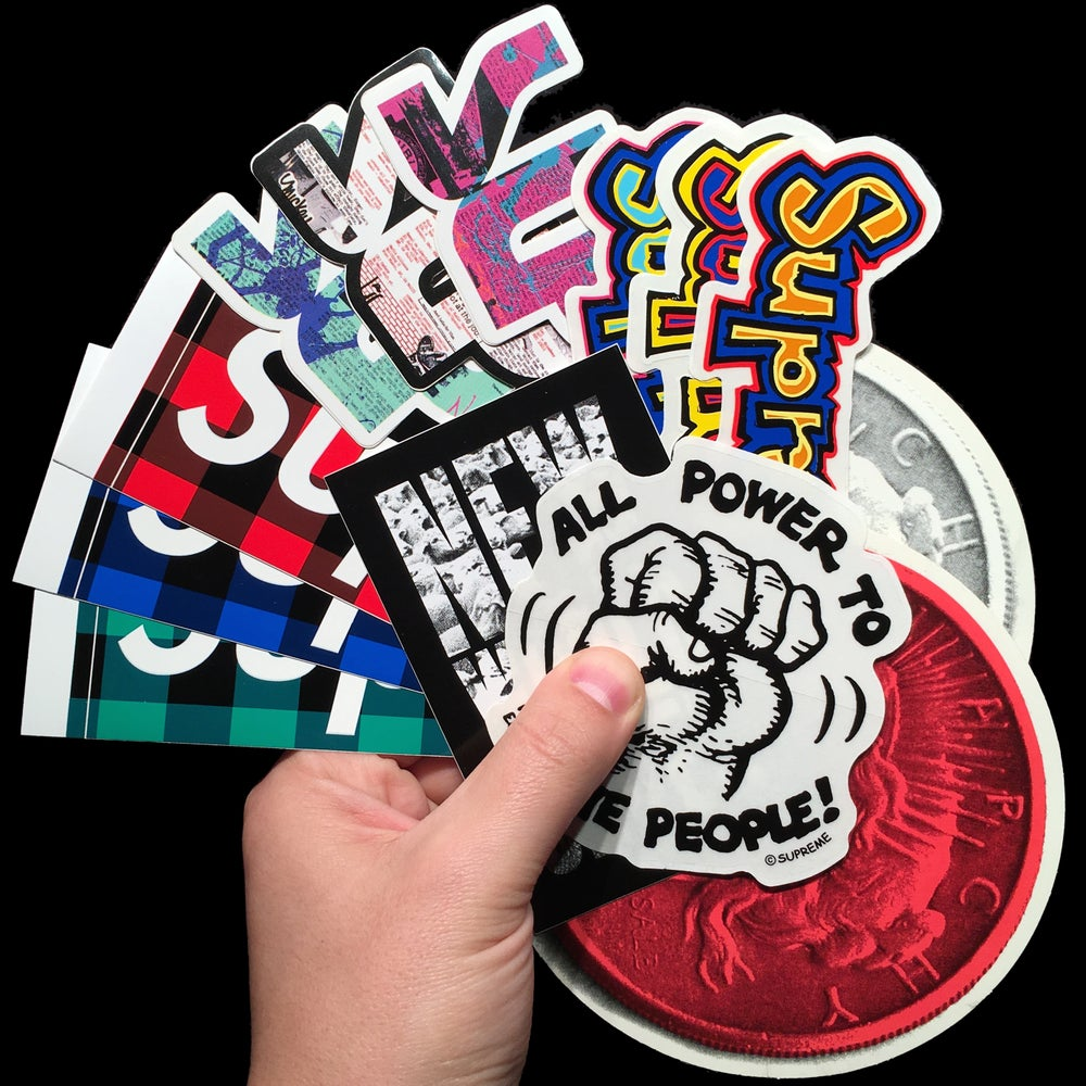 Image of 2007 Stickers (Buffalo/Anarchy/Phase 2/R.Crumb)